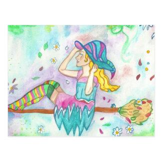 Postales de la bruja de Flowerwind