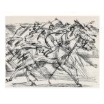 Postales de la carrera de caballos
