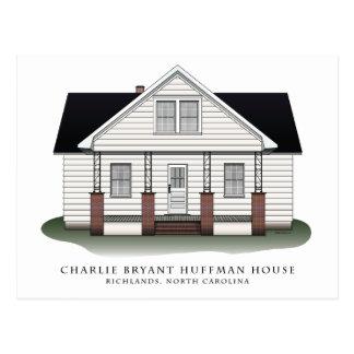 Postales de la casa de Charlie Bryant Huffman