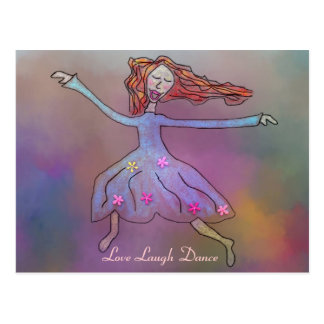 Postales de la danza de la risa del amor