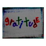 """postales de la """"gratitud"""""""