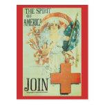Postales de la guerra, Cruz Roja del vintage