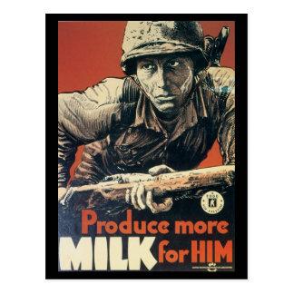 Postales de la guerra mundial, lechería Assoc. de