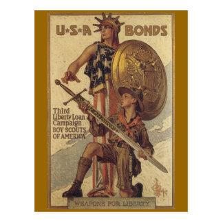 Postales de la guerra, vintage