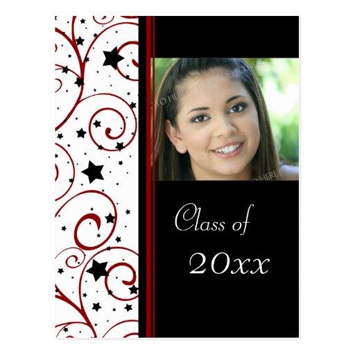 Postales de la invitación de la fiesta de graduaci