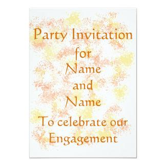 Postales de la invitación del fiesta de la