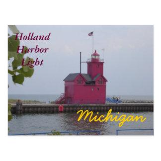 Postales de la luz del puerto de Holanda