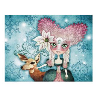 Postales de la magia del invierno de Noelle