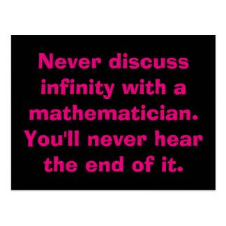 Postales de la matemáticas del infinito