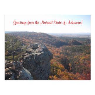 Postales de la naturaleza de Arkansas