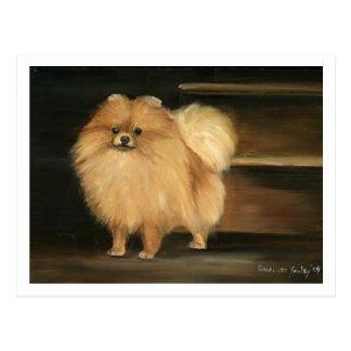 Postales de la reproducción del arte del perro de