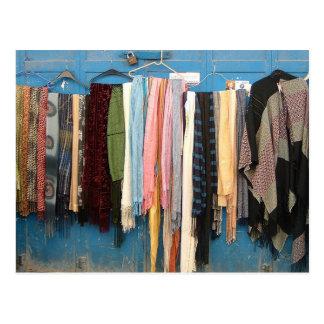 Postales de las bufandas de Jerusalén