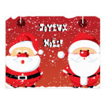 Postales de las cartas de Père Noël Papá Noel