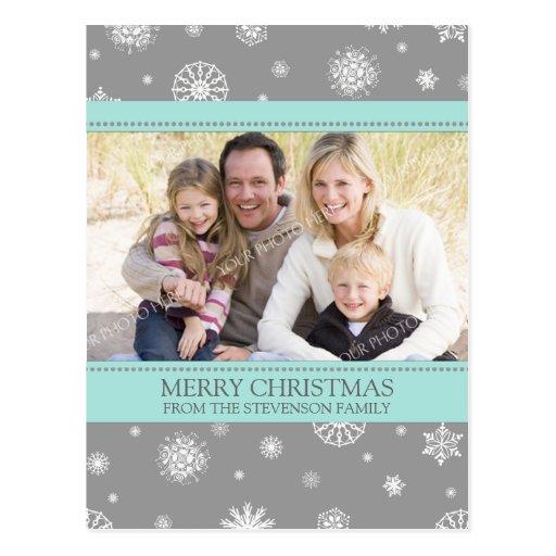 Postales de las Felices Navidad de los copos de ni