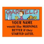 Postales de las mañanas de Garfield Logobox