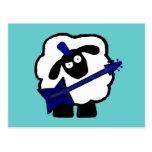 Postales de las ovejas del guitarrista
