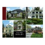 Postales de las propiedades inmobiliarias muchos h