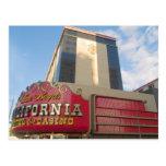 Postales de Las Vegas del casino de California