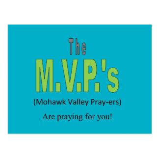 Postales de los rezos del valle del Mohawk