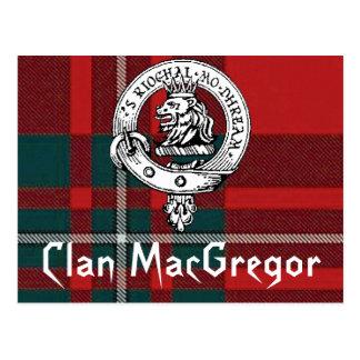 Postales de MacGregor del clan