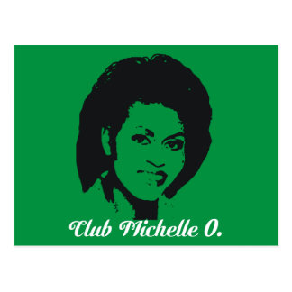 Postales de Michelle O del club, verde de Kelly