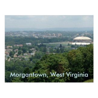 Postales de Morgantown WV del coliseo de Evansdale