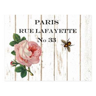 Postales de París del vintage