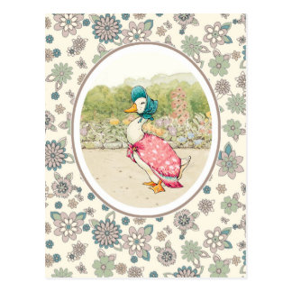Postales de Pascua del pato del vintage