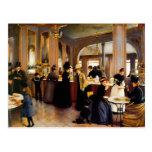 Postales del arte 1889 del vintage del Shoppe de l