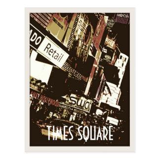 Postales del arte del Times Square