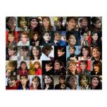 Postales del collage de Sarah Palin