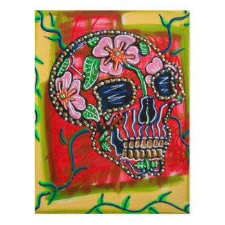 Postales del cráneo de la flor