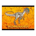 Postales del Dilophosaurus