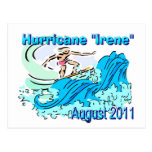 """Postales del diseñador de """"Irene"""" del huracán"""
