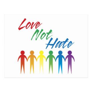 Postales del gay del odio del amor no