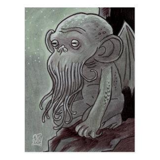 Postales del mono de Cthulhu