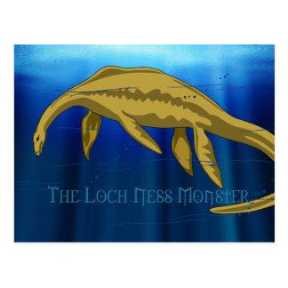 Postales del monstruo de Loch Ness