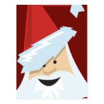Postales del navidad de Papá Noel