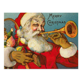 Postales del navidad de Santa del Victorian