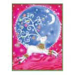 Postales del navidad del reno
