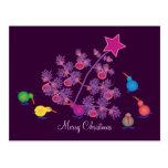 Postales del navidad: Pájaros del kiwi