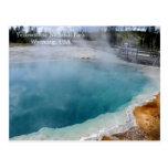 Postales del parque nacional de Yellowstone