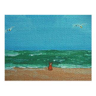 Postales del perro de mar