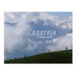 Postales del personalizado de Austria