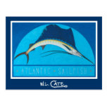 Postales del pez volador atlántico