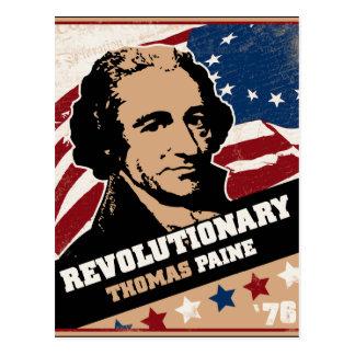 Postales del revolucionario de Thomas Paine