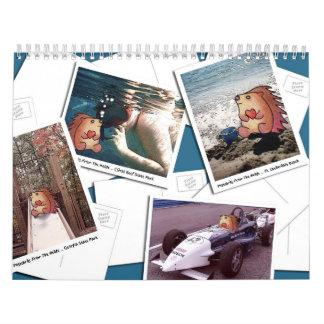 ¡Postales del seto!  2010 Calendarios