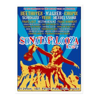 Postales del viaje de Beethoven Sonatapalooza