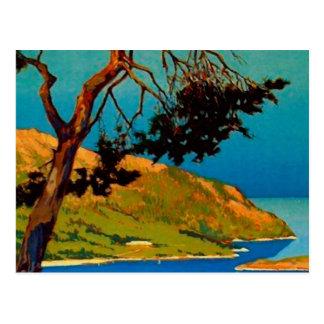 Postales del viaje de la costa de California del v