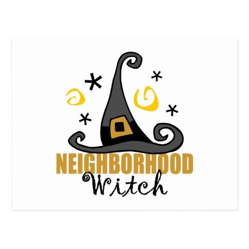 Postales divertidas de la bruja de la vecindad de